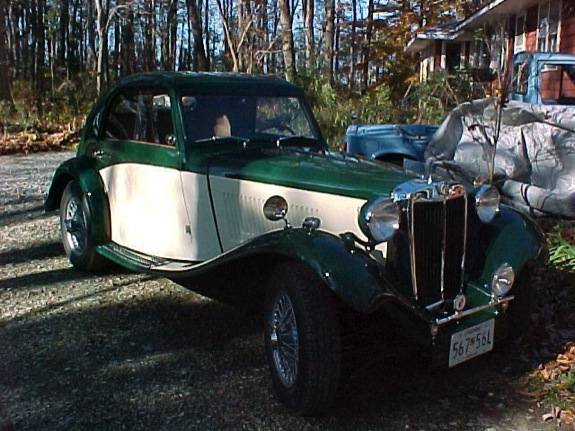 MG TD Airline Coupe