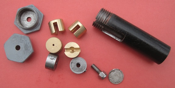MG MMM Rear Trunnion Components