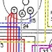 Late MG TC Wiring Diagram in Colour