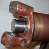 TC stub axle spindle replacement